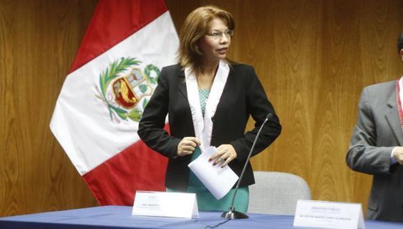 CASO COMPLEJO. La fiscal Barreto dijo que el plazo de la megainvestigación es de 36 meses. (Mario Zapata)