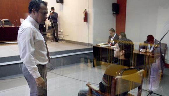 CULPABLE. Gonzales estaba cansado del proceso. Su declaración influirá en la sentencia a 'Elita'. (Alberto Orbegoso)
