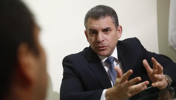 El fiscal superior Rafael Vela es líder del equipo especial Lava Jato. (Piko Tamashiro/GEC)