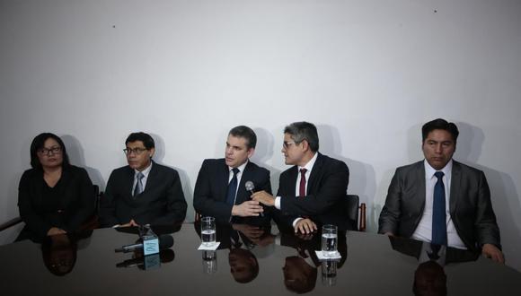 El equipo especial Lava Jato es liderado por el fiscal suprior Rafael Vela. (Hugo Pérez/GEC)