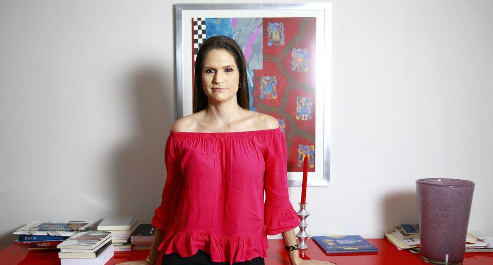 """Lorena Álvarez: """"Hay que desterrar la frase 'es pegalón, pero buen profesional'"""" (Allen Quintana/Perú21)"""