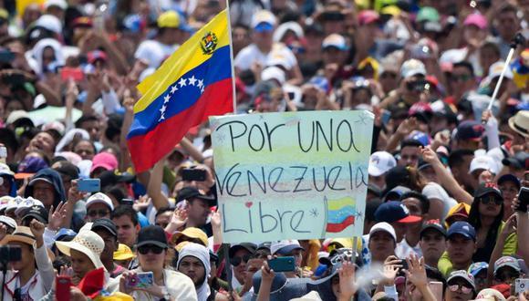 La tensión política en Venezuela ha subido en la última semana en medio de la crisis económica. (Foto: AP)