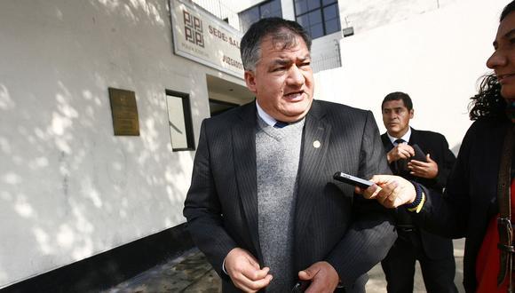 El fiscal Marco Guzmán Baca fue cuestionado el año pasado por ocultar audios que comprometían al expresidente Ollanta Humala con el Caso Madre Mía. (Foto: Archivo El Comercio)