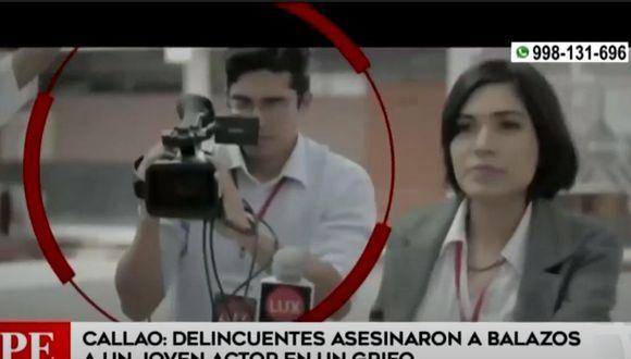 La víctima participó en algunos cortometrajes y obras de teatro. (Captura América TV)