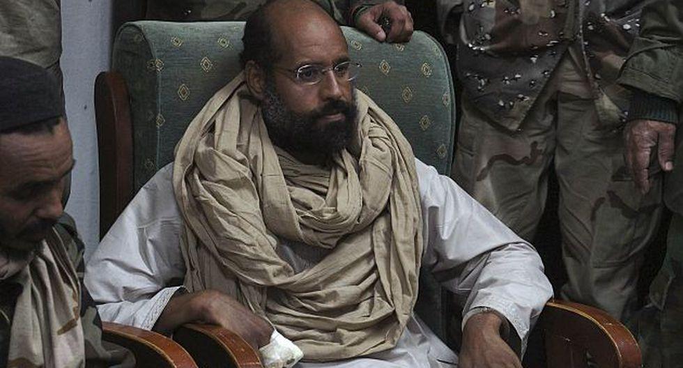 Saif al Islam está detenido en un lugar no revelado por las autoridades libias. (Reuters)