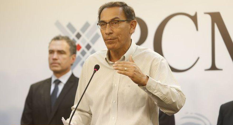 Martín Vizcarra indicó que la avenida Ramiro Prialé sería reabierta el próximo jueves. (Perú21)