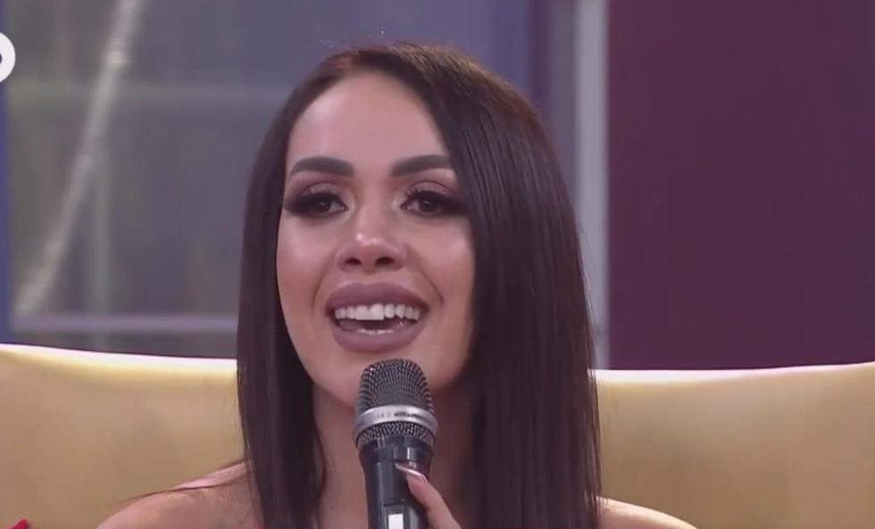 Dorita Orbegoso confirmar su embarazo y se emociona hasta las lágrimas. (América TV)