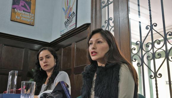Arlette Contreras saluda decisión del Poder Judicial. (Foto: Andina)