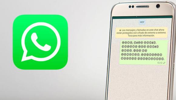 ¿Quieres cambiar la letra de WhatsApp? Conoce el sorprendente truco para acceder a más fuentes en la app. (Foto: WhatsApp)