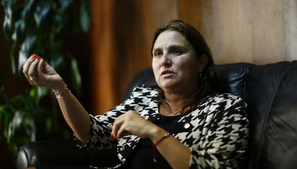 Marisol Pérez Tello reafirmó que fue Julia Príncip quien renunció al CDJE. (Luis Centurión)