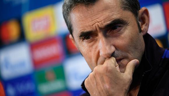 Valverde recordó sus enfrentamientos previos ante Napoli como entrenador del Athlétic. (Foto: AFP)