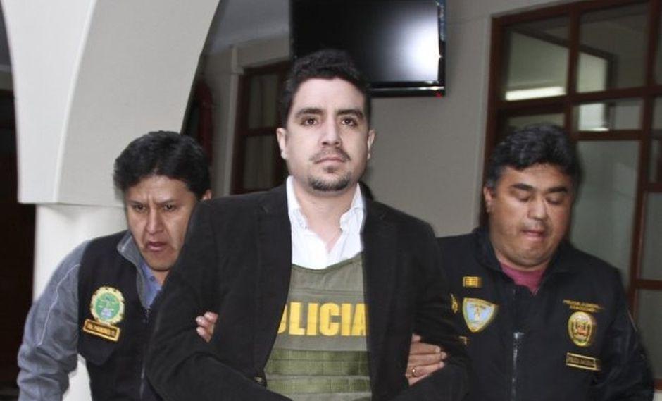 Adriano Pozo fue condenado a 11 años de prisión. (Foto: GEC/Archivo)