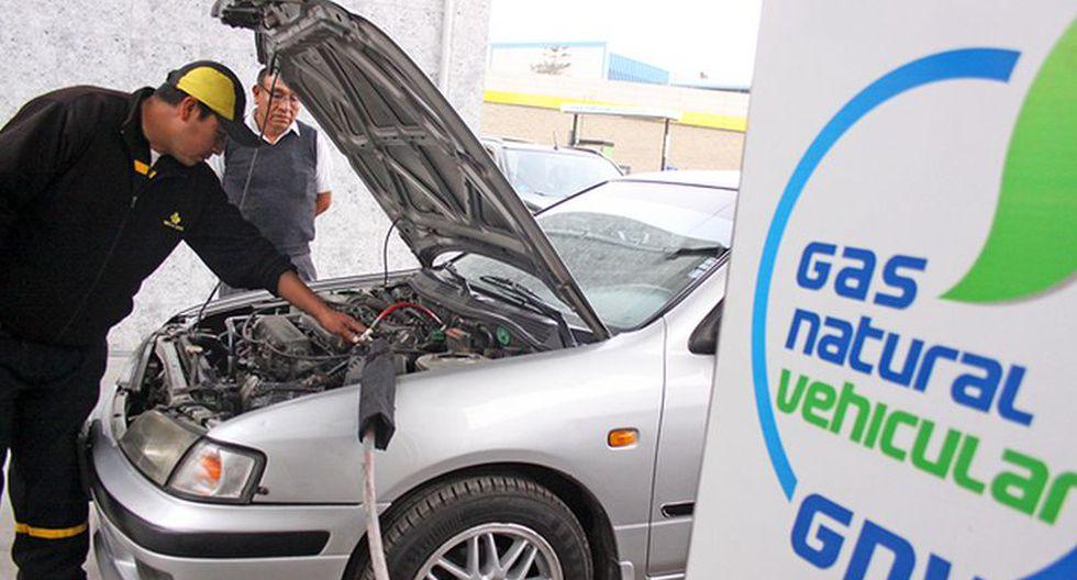 Calidda está interesado en impulsar el consumo a nivel del parque automotor. (Foto: Difusión)