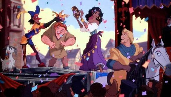 """Disney alista una película live-action de """"El jorobado de Notre Dame"""". (Foto: Disney)"""