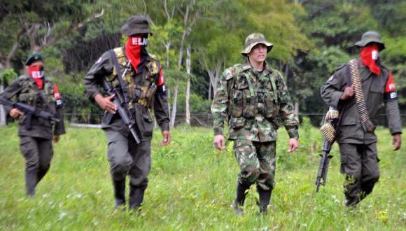 El ELN es el segundo grupo subversivo de Colombia. (AFP)