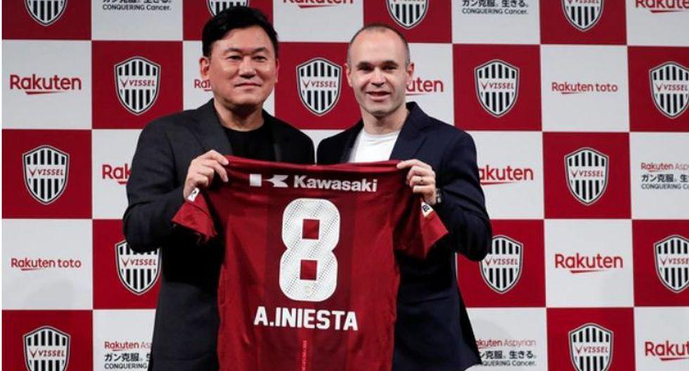 Andres Iniesta dejó el Barcelona tras más de 22 años en el club. (Reuters)