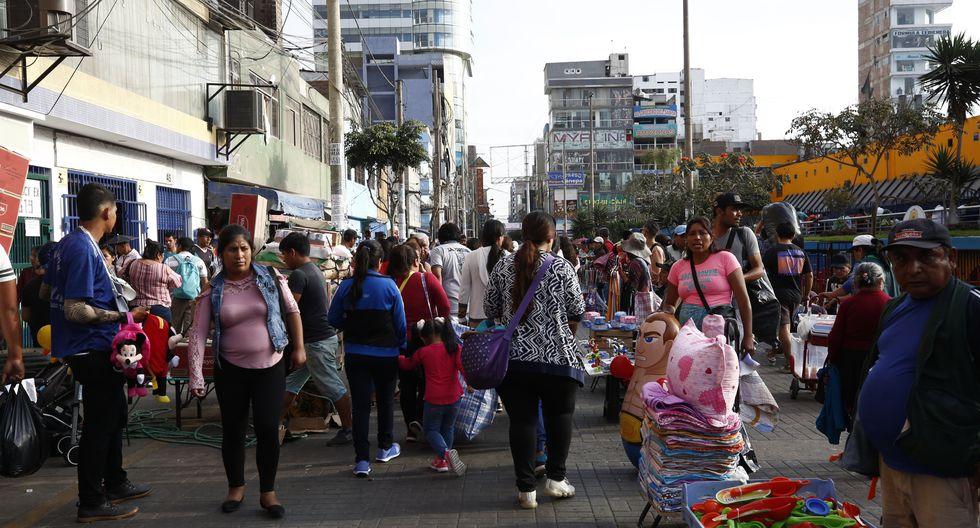 La Municipalidad de La Victoria prohíbe comercio ambulatorio en Gamarra. (GEC)