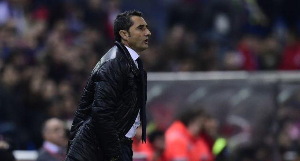 Ernesto Valverde reemplazará a Luis Enrique en el banco del Barcelona. (AFP)