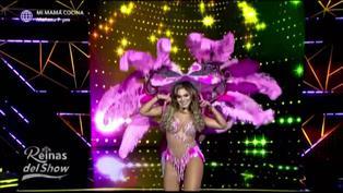 Isabel Acevedo obtuvo el puntaje más alto interpretando los temas de Two man sound en 'Reinas del show'