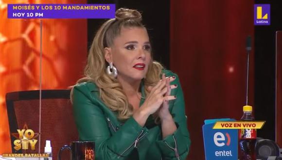 Yo Soy: Johanna San Miguel se quiebra con interpretación de 'Raphael'  (Video: Captura)