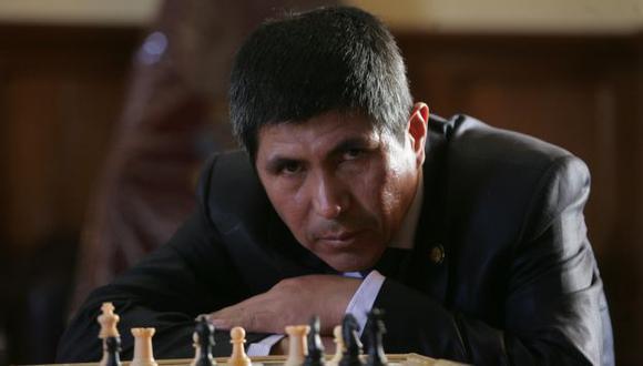 El GM peruano se impuso a grandes trebejistas en el torneo. (Heiner Aparicio)