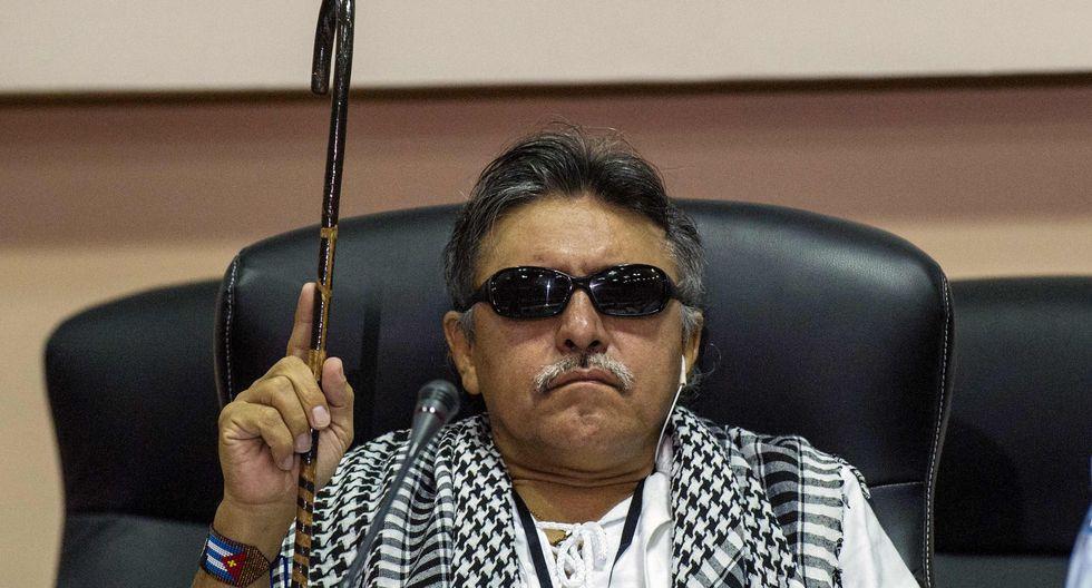 Jesús Santrich, podría ser extraditado a Estados Unidos tras ser capturado en Colombia bajo cargos de narcotráfico. (AFP)