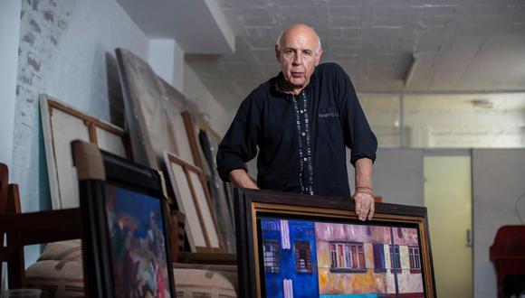 Conversamos con el pintor Enrique Polanco. (Perú21/ César Campos)