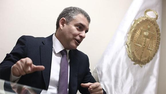 Rafael Vela dijo que en el acuerdo de colaboración eficaz que se firmará con Odebrecht solo se basará en los proyectos en los que la empresa admite que ha delinquido. (Foto: Agencia Andina)