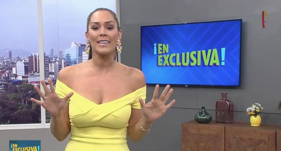 Karen Schwarz (Panamericana Tv)