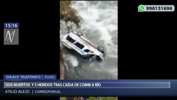 La emergencia se reportó al promediar las 3:00 a.m. de hoy. (Foto captura: Canal N)