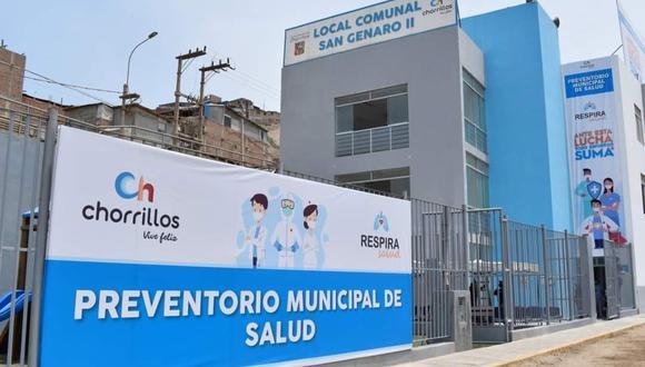 Centros que tratarán a pacientes con síntomas de COVID-19 buscan reducir la presión sobre los hospitales. (Foto: Municipalidad de Chorrillos)