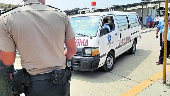 Tumbes: el agente fue diagnosticado con herida por proyectil de arma de fuego en el muslo derecho, con entrada y salida.