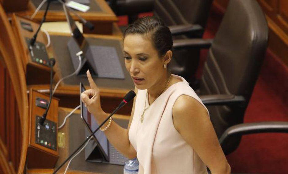 Noceda reveló haber sido víctima de tocamientos indebidos de parte del congresista Luis López Vilela. (Perú21)