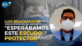Médico que atiende casos de COVID desde el inicio de la pandemia