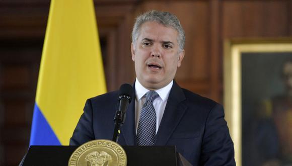 Presidente Duque anunció que ventiladores mecánicos llegarán de manera progresiva. (RAUL ARBOLEDA / AFP)