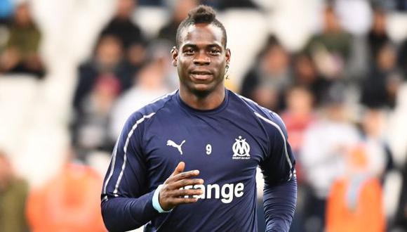 Mario Balotelli está sin club tras su paso por el Olympique de Marsella.  (Foto: AFP)