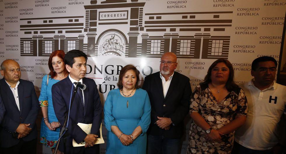 """La bancada de Peruanos por el Kambio consideró que este tipo de acciones """"manchan la política peruana y deben ser desterradas"""". (Foto: GEC)"""