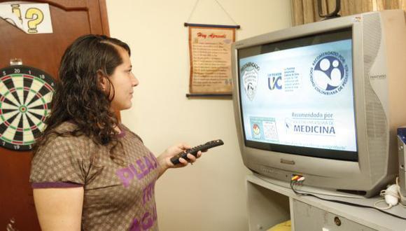 La televisión tuvo una participación de 49.68%. (USI)