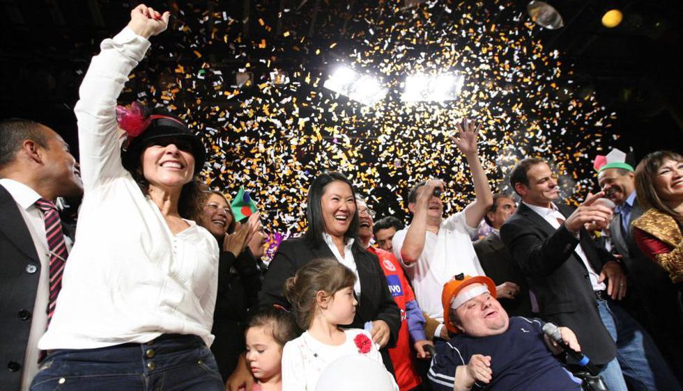 Keiko agradeció el apoyo que recibe en el proceso de indulto para Alberto Fujimori. (Luis Gonzales)