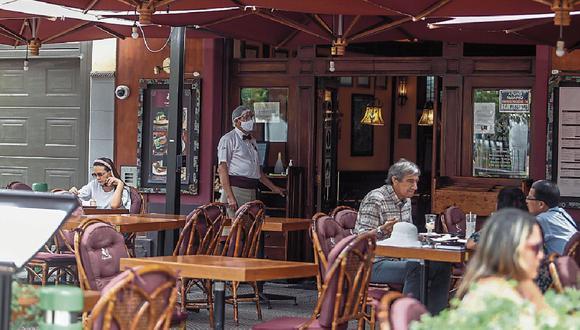 El Gobierno apuesta por los espacios abiertos para ampliar el aforo de restaurantes. (Foto: GEC)