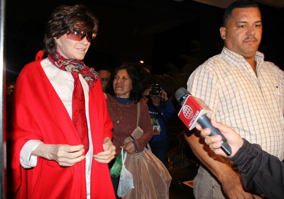 Camilo Sesto llegó a Lima la noche del miércoles. (Difusión)