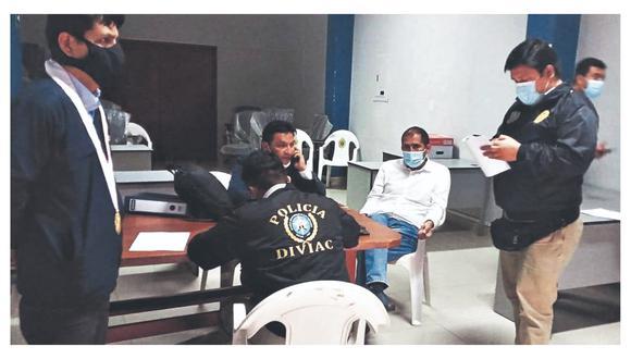 La Policía detuvo a Juan Carlos Morillo tras dictársele una orden de prisión preventiva de nueve meses.