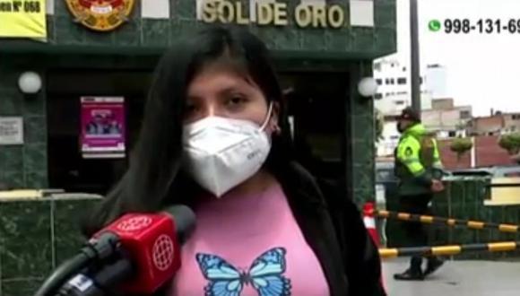 Pareja de estafadores logró engañar a joven con la modalidad del boleto ganador de la lotería, en Los Olivos. (Captura: América Noticias)
