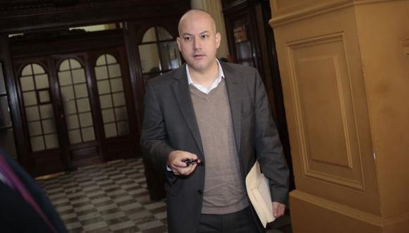 Sergio Tejada, presidente de la megacomisión, también habló de caso López Meneses. (César Fajardo)