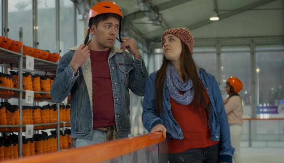 """""""Sí mi amor: La Película"""", la cinta peruana que protagonizan Julian Zucchi y Yiddá Eslava, acaba de estrenar su tráiler oficial. (Foto: Captura de video)"""