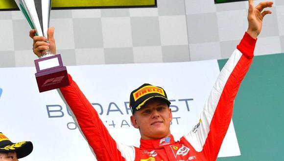 Mick Schumacher debutará en la Fórmula Uno. (Foto: EFE)