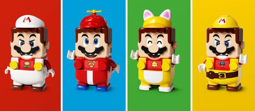 Los nuevos sets de 'LEGO Super Mario Adventures' servirán de expansiones al primer set anunciado.