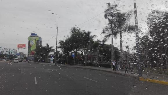 Una lluvia de verano sorprendió a los limeños. (Senamhi)