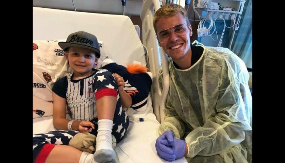 Justin Bieber es conocido por su lado caritativo, y lo volvió a demostrar. (Instagram)