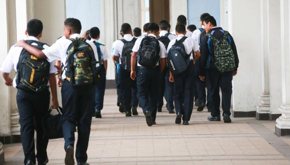 A través de la Resolución Viceministerial Nº 080-2020-MINEDU se dispone la suspensión del servicio educativo correspondiente al Año Escolar 2020 hasta el próximos 30 de marzo. (Foto: GEC)